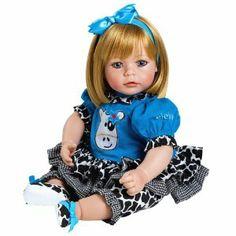 "Adora Baby Doll 20"" E.I.E.I.O. Sandy (Blond Hair/Blue Eyes)"