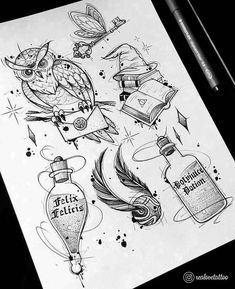 𝕽𝖊𝖆𝖑 𝕷𝖔𝖛𝖊 – 𝕿𝖆𝖙𝖙𝖔𝖔 & 𝕲𝖗𝖆𝖋… - This is Tattoo Harry Potter Tumblr, Harry Potter Film, Harry Potter Fan Art, Harry Potter Tattoos, Harry Potter Lines, Harry Potter Sketch, Harry Potter Drawings, Harry Potter World, Harry Potter Hogwarts