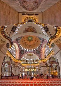 Mosque Süleymaniye Istanbul Turkiye