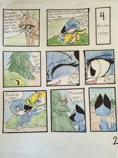 The forest page 2
