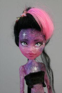 Monster High Blob girl Custom Galaxy girl by HaselsAesthetics, €80.00