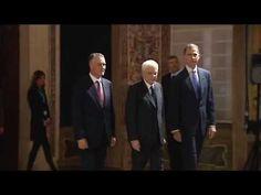 Fin del Encuentro Cotec-Europa celebrado en Roma. S.M. el Rey Felipe se reunió en Roma con los Presidentes de Italia y de Portugal.  28.10.2015