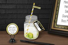 HEY THERE!  Our 1920s Printable Black and Gold Foil Straw Drink Tags are perfect for a Roaring good time at any 1920s Theme Party including; A New Years Eve Bash or 30th Birthday Party!  They can be easily printed using a standard desktop printer on 8.5 x 11 (letter size) paper, or can be printed at your local print shop such as Staples or Kinkos. Your purchase includes easy assembly instructions, and a high-quality printable PDF file.  Please note: This listing is for a DIGITAL download for…