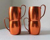 Vintage copper mugs...cool