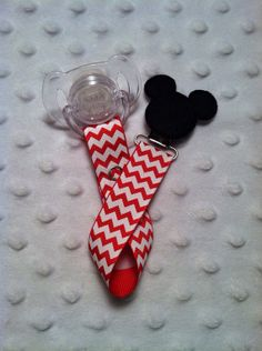 Boys Red Mr Mouse Mickey Mouse Applique Hiding by StylinNProfilin, $7.00