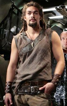 Ronon Dex - Stargate Atlantis T.V. Crush Gotta Admit. He is so...well yeah