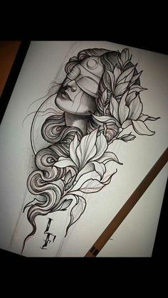Popular Tattoos and Their Meanings - Tattoo - Tattoo Hai Tattoos, Body Art Tattoos, Sleeve Tattoos, Portrait Tattoo Sleeve, Small Tattoos, Tattoo Sketches, Tattoo Drawings, Tattoo Ink, Arm Tattoo
