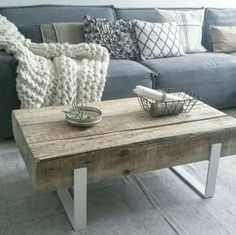 Table basse bois, Campagne Chic