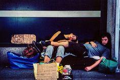 Homeless. Kodak Ektar 100, Leica M3, Leica Summicron DR 50mm f/2. © Jim Fisher