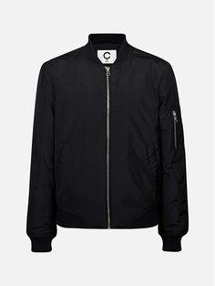 Svart - Bora bomberjakke Bomber Jacket, Jackets, Fashion, Down Jackets, Moda, Fashion Styles, Bomber Jackets, Jacket, Fashion Illustrations