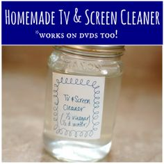 Easy, Non-Toxic Screen Cleaner: It even gave a second life to our smudged Cinderella DVD!
