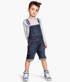 H&M bib overall shorts for kids