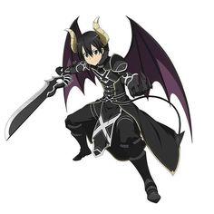 Ver esta foto do Instagram de @sword_art_online_demons • 5,593 curtidas Kirito Kirigaya, Kirito Asuna, Sao Ggo, Kirito Sword, Sword Art Online Kirito, Light Novel, Animation Film, Anime Comics, Online Art
