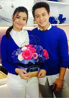 King & Queen of the Gil  #lizquen #lizasoberano #enriquegil