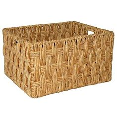 Woven Wicker Basket Large - Threshold™