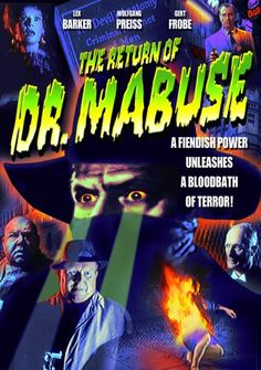 The greatest criminal mastermind of all-time, Dr. Mabuse, plots to destroy the world with poison gas in this remarkable film noir masterpiece. Evil World, Fritz Lang, Destroyer Of Worlds, Nuclear Power, London City, Gotham, Horror Movies, Movies To Watch, Movies Online