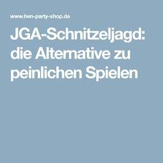JGA-Schnitzeljagd: die Alternative zu peinlichen Spielen(Diy Geschenke Schwester)