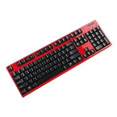 Filco Majestouch Convertible 2 Blue switch 104 Mechanical keyboard Wireless  Red #Majestouch