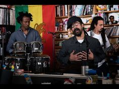 Damian 'Jr. Gong' Marley: NPR Music Tiny Desk Concert - YouTube Bob Marley Day, Damian Marley, Speak Life, Him Band, Songs To Sing, Big Love, Executive Producer, Baby Daddy, Musica