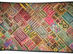 "Indian Style Tapestry Sequin Beaded Kutch Embroidery Wall Hanging Throw 78""x40"" Mogul Interior,http://www.amazon.com/dp/B00HRSQIRW/ref=cm_sw_r_pi_dp_Ef1Zsb18DR2GM9E0"