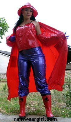 and Rubber outfits Raincoat Jacket, Yellow Raincoat, Adele, Plastic Pants, Plastic Aprons, Plastic Mac, Rain Fashion, Vinyl Clothing, Latex