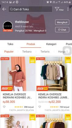 Best Online Clothing Stores, Online Shopping Sites, Online Shopping Clothes, Modern Hijab Fashion, Muslim Fashion, Casual Hijab Outfit, Hijab Dress, Online Shop Baju, Hijab Style Tutorial