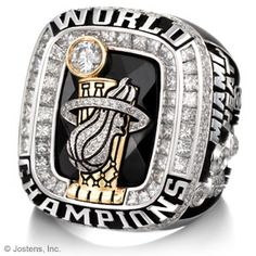 Miami Heat World Championship Ring Awesome design Nba Championship Rings, Nba Championships, Nba Rings, Nba Miami Heat, Ring Of Honor, Nike Design, Nike Soccer, Vintage Nike, Baseball