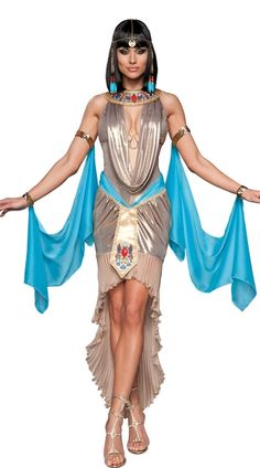 Deluxe Pharaohs Treasure Costume, Deluxe Pharaohs Gem Costume, Deluxe Egyptian Costume, Deluxe Pharaoh Costume