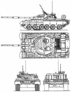 russian Main battle tank T-80UD