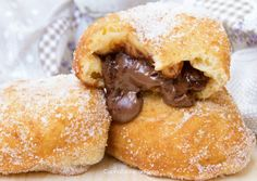 Bomboloni di Patate alla Nutella