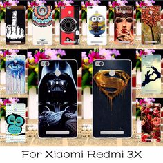 Soft Silicone or Plastic Mobile Phone Case Cover For Xiaomi Redmi 3X 5.0 inch Smartphone Shield Back Covers Shell Housing Hood