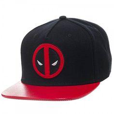 fab4f34cc71f4 Buy on Amazon.com - DEADPOOL- Logo SNAPBACK Hat Size ONE SIZE Deadpool  Emblem