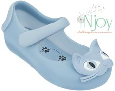 Mini Melissa Cat Shoes #bluecatshoes #ultragirl #weareflowers