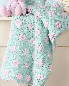 New Crochet Afghan Patterns Blanket Ravelry Ideas Afghan Patterns, Crochet Blanket Patterns, Baby Blanket Crochet, Knitting Patterns, Crochet Blankets, Crocheted Baby Afghans, Crochet Bebe, Love Crochet, Knit Crochet