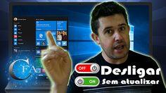 Neste vídeo vamos  aprender como desligar o Windows xp, 7, 8, 8.1, 10 sem ter de instalar as constantes atualizações que a Microsoft nos empurra. Acesse: www.canalforadoar.com