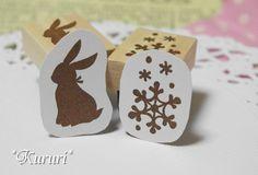 うさぎ&結晶の消しゴムはんこセット Handicraft, Place Cards, Stamps, Place Card Holders, Crafts, Craft, Seals, Manualidades, Gift Crafts