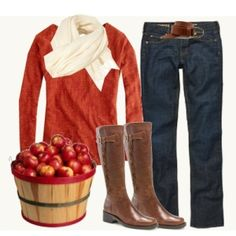 Fall outfit..... love this!!! by reva