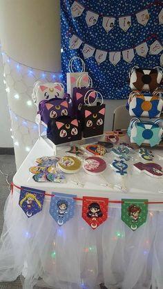 #SailorMoon #Decoración #FiestaSailorMoon #PartySailorMoon Indian Birthday Parties, Girl Birthday Themes, Happy Birthday Images, Birthday Party Decorations, Party Themes, Party Ideas, Sailor Moon Birthday, Sailor Moon Party, Sailor Moon Wedding