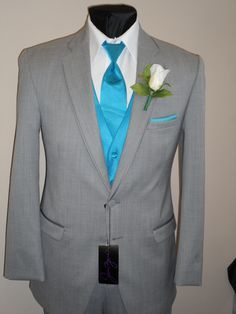 grey and turquoise tuxedo - Google Search