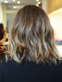 Lovely haircut and color