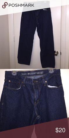 Blue denim straight leg jeans Straight leg old navy 33/30 Old Navy Jeans Straight
