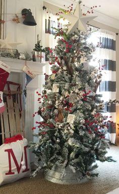 cozy christmas home decor mountainmodernlife com pinterest