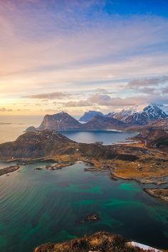 Lofoten, Norwegen. Necesitas.