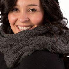 JD Love Men Women Luxury Mongolian Wool Infinity Scarf Soft, Cozy and Warm
