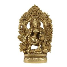 Amazon.com: Kali Goddess Statue And Sculpture For The Home Décor; Brass; 5 x 1.75 x 7.5 Inches: Home & Kitchen