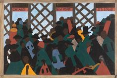 People on the Move: Beauty and Struggle in Jacob Lawrence's Migration Series