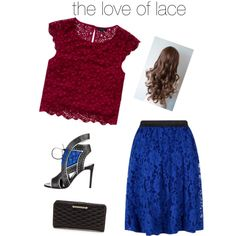 A fashion look from February 2015 featuring Talula blouses, Poem skirts and Roberto Cavalli ankle booties. Browse and shop related looks.
