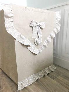 Copri lavatrice in tessuto, copri asciugatrice