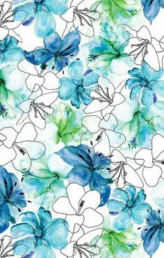 New wallpaper iphone pattern blue Ideas Pattern Paper, Pattern Art, Pattern Design, Surface Pattern, Cute Wallpapers, Wallpaper Backgrounds, Iphone Wallpaper, Wallpapers Android, Modern Wallpaper