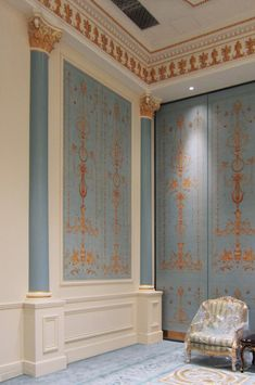 Iksel Decorative Arts painted panels